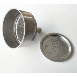 koszyczek i sitko aluminiowe do kawiarek AnCap 240 ml
